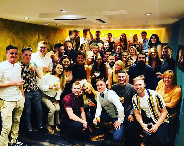 Last night these people came to celebrate my 30th. The very best team a man could wish for. Thank you all so much for coming. Couldn't ask for a better group of humans. Love you all dearly. #squadgoals #family