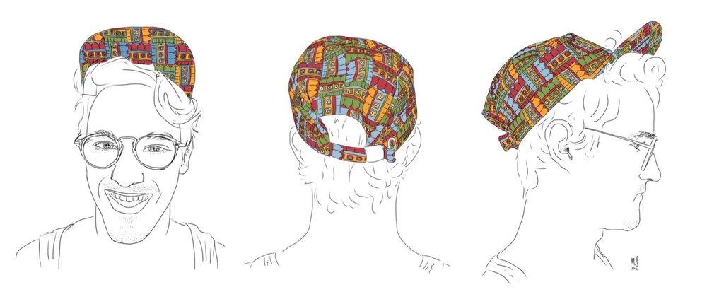 360 degree Triptych.