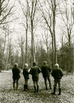 Woodland Heritage Trustees at Ipsden.