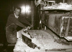 Steam bending -a matter of heat, moisture and pulling power
