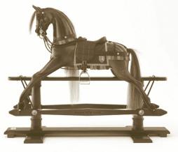 "The Magna Carta Horse (Latin: ""Great Charter"")"