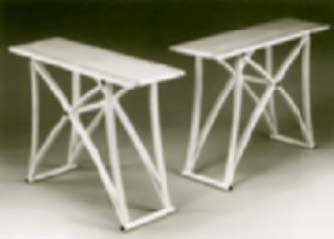 Pair of Side Tables in Rippled Sycamore designed by Richard Williams and made by Bo Korting