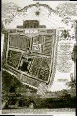 The 1751 garden layout