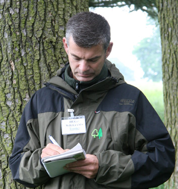 HUGH WILLIAMS    Trustee   Hugh is currently the Forester at Surrey Wildlife Trust where he manages 1500hectares of woodland. He previously worked at Forest Research and The National Forest Company. As well as being a trustee for Woodland Heritage, he is also an ambassador for The National Forest.