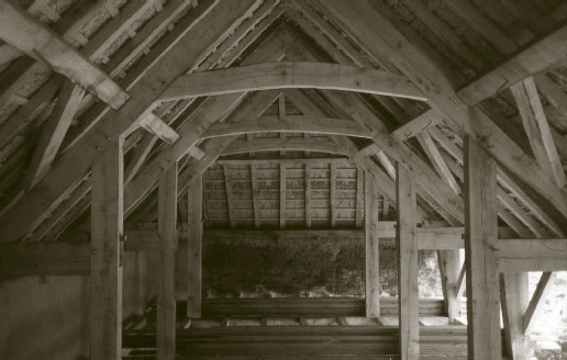 Timber frame, Shevishayes barn