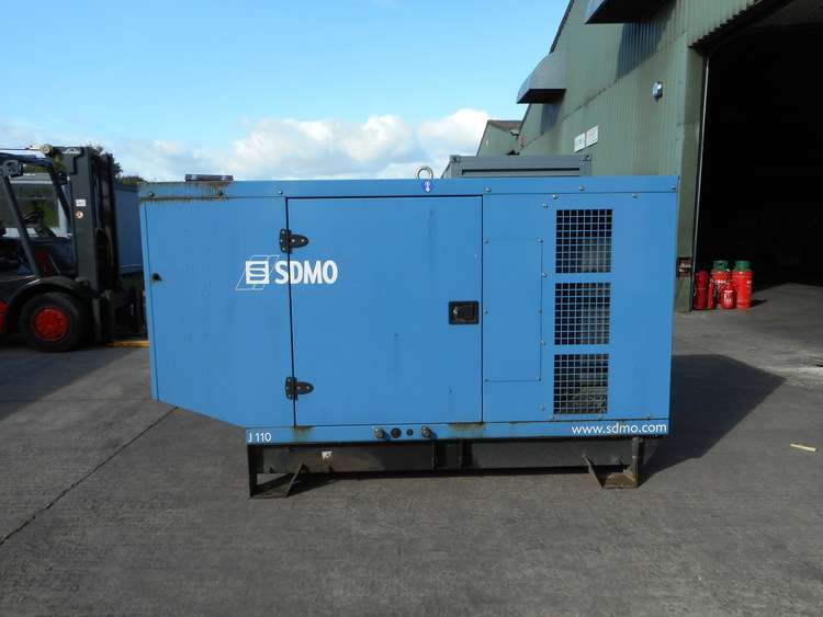 The generator that was installed at Elwy Working Woods