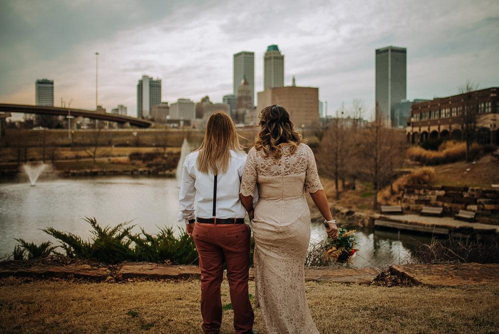 Tulsa, OK - Intimate wedding