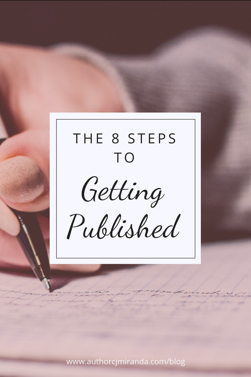 8 steps to follow to submit your writing to a publisher | a blog post at authorcjmiranda.com