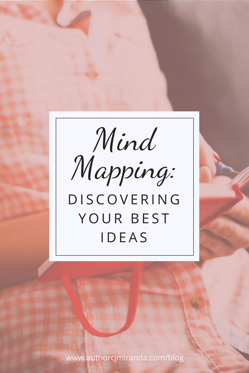 An explanation of mind mapping and how it can be used to make the most out of your creativity | a blog post at authorcjmiranda.com