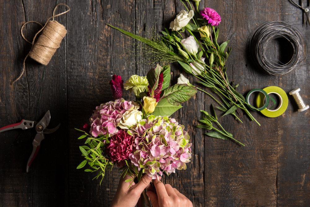 Fresh cut flowers -