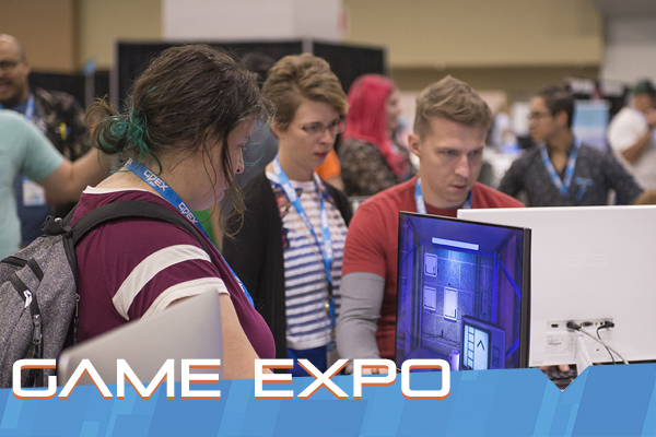 GDEX GAMING EXPO | Saturday 9/29 & Sunday 9/30 | 10am - 6pm   Considered by many to be the  Sundance of Video Games , GDEX is the best place to play new and unreleased games you can't play anywhere else. Featuring over 100 games, as well as tons of other things to do, GDEX is the Midwest's Premier Gaming Expo for a reason.