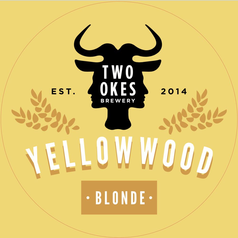 Two Okes Brewery Yellowwood Blonde Craft Beer Logo.png