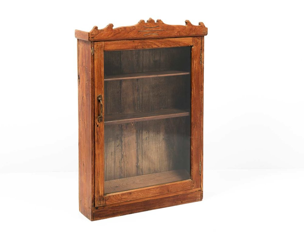 Almirah Wall Cabinet - Antique - Almirah Wall Cabinet - Antique — Lucky Fitsch