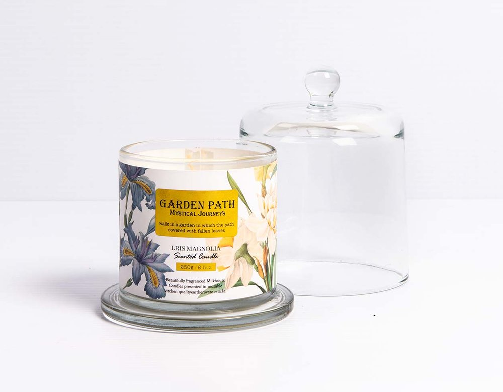 Garden path single wick candles  R295