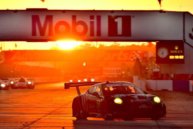 Stop what you're doing and look at us. Look at us on FOX Sports 2. #Sebring12 #letsgo #potd