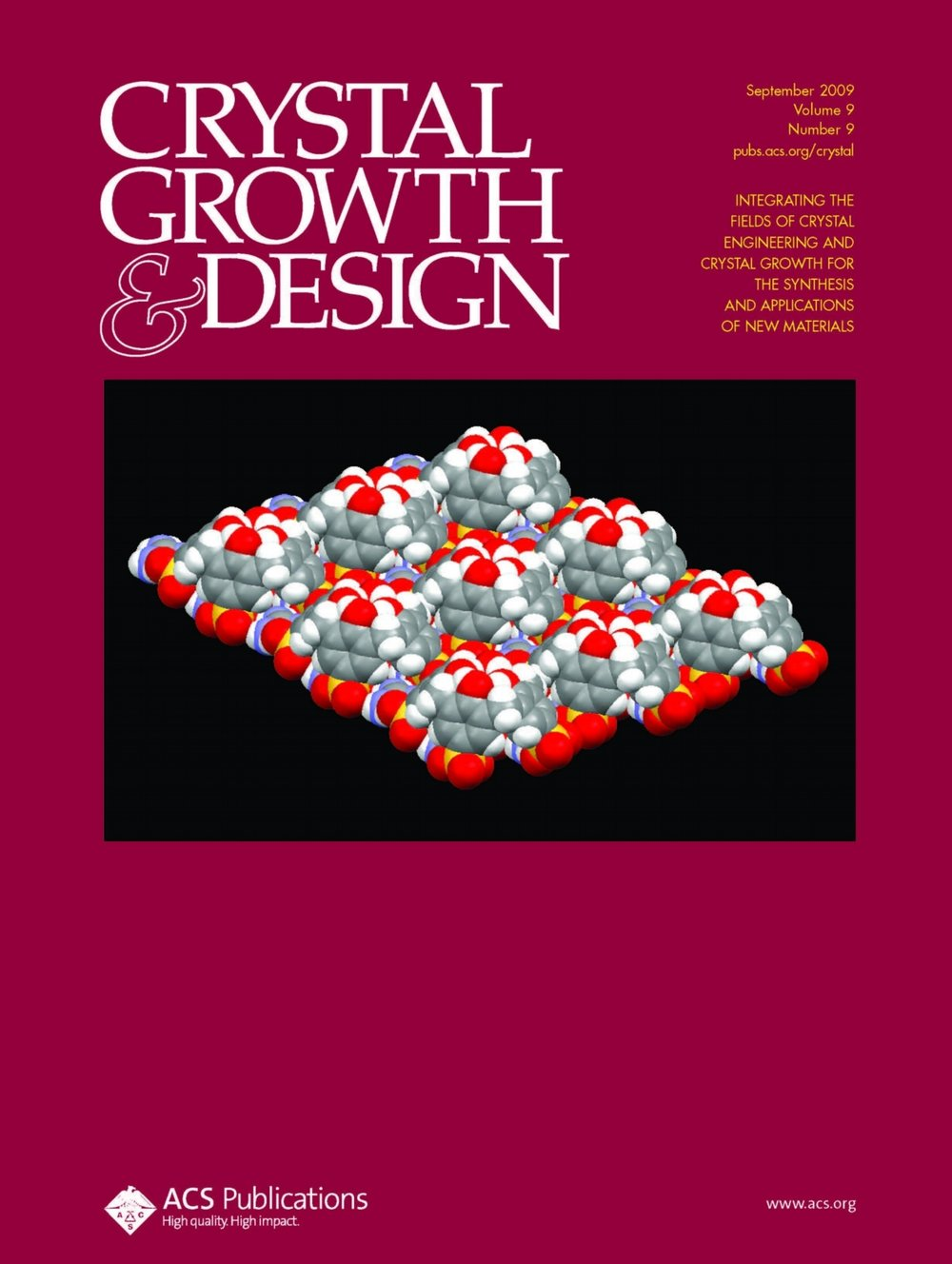 Liu, et al. Cryst. Growth Des   2009  , 9,  3859