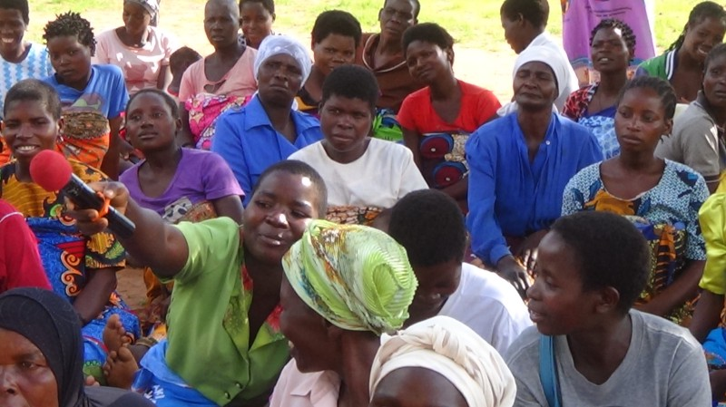 When women and girls have a voice, progress accelerates. Photo credit: WRA Malawi.