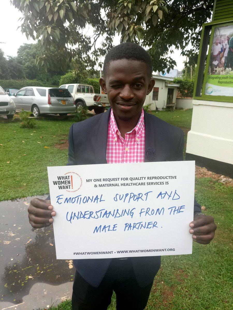 Men Supporting What Women Want... in Uganda