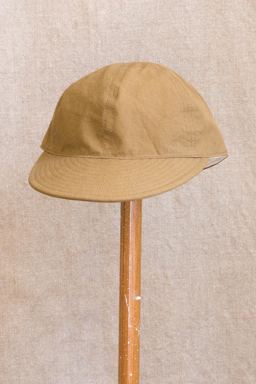 c42d29551 Field Cap - Umber Poplin