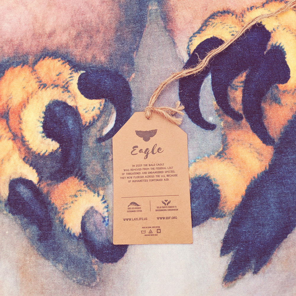 Laylife, towel, octopus, tiger, eagle, spread, blanket, sheet, throw, cotton, environment, dry, thick, watercolor, art, sustainable, animal, donate, dry, lay, decorate, picnic, beach, ocean, graphic, design, print2.jpg