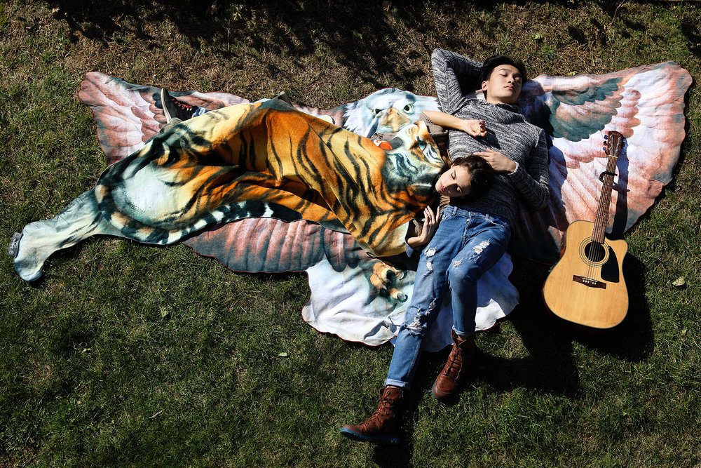 Laylife, towel, octopus, tiger, eagle, spread, blanket, sheet, throw, cotton, environment, dry, thick, watercolor, art, sustainable, animal, donate, dry, lay, decorate, picnic, beach, ocean, graphic, design, print 11.jpg