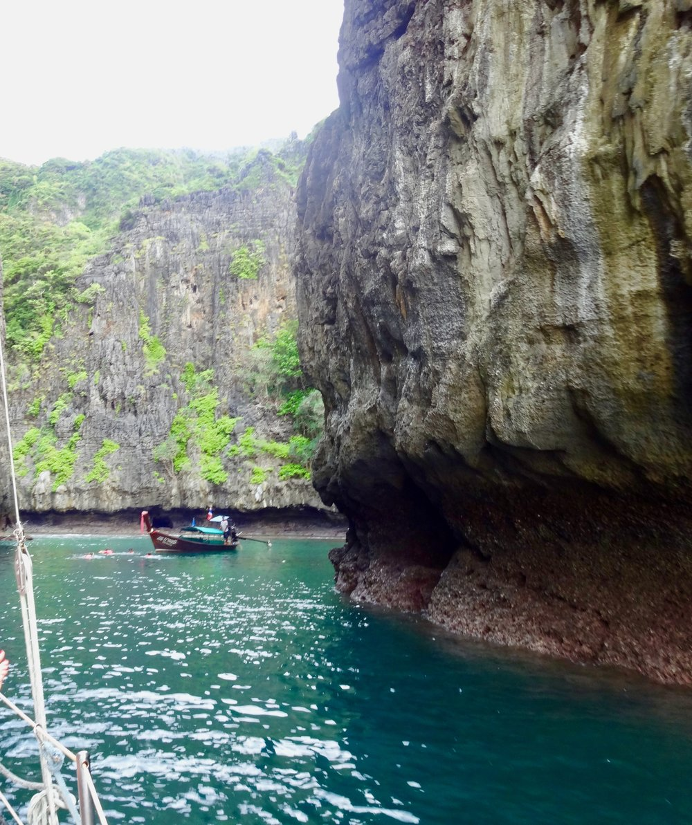 Captain Bob's Cruise - You'll love it. Just be sure not to get kidnapped by the Thai army when Bob bribes them with red wine for access to the ancient cave drawings.