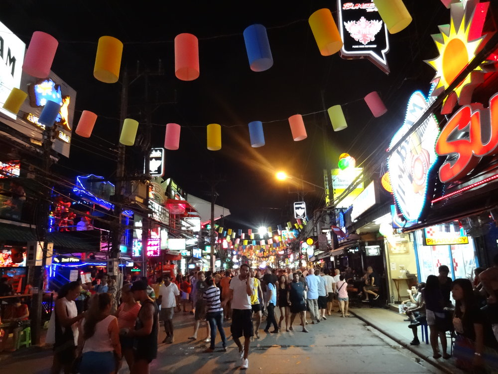 Bangla Road. Gotta see it. -