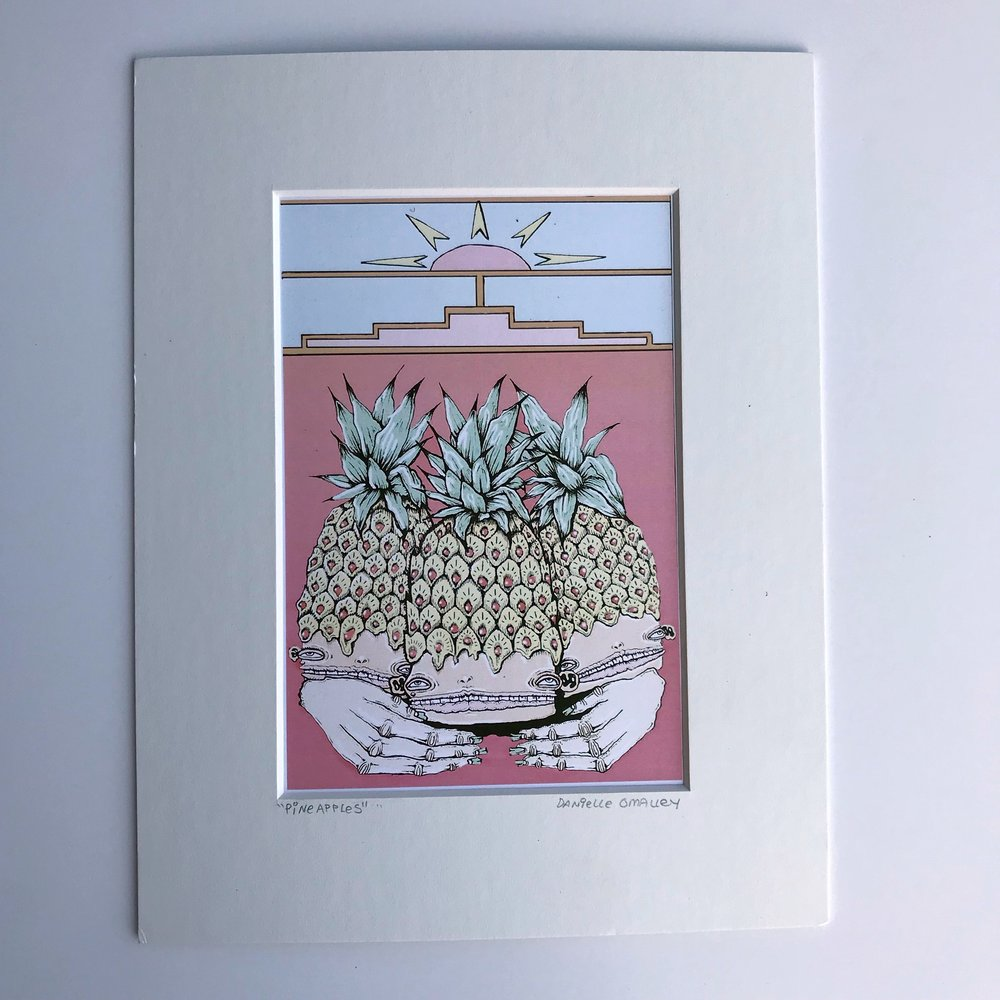 *✭Fit Your Vibe - Desert's Edge Matted Print $18