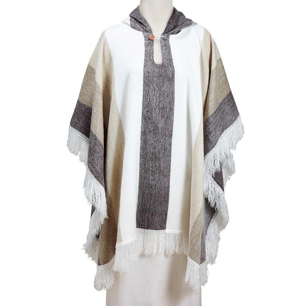 Dashing & Cozy - Desert Trip Poncho $98