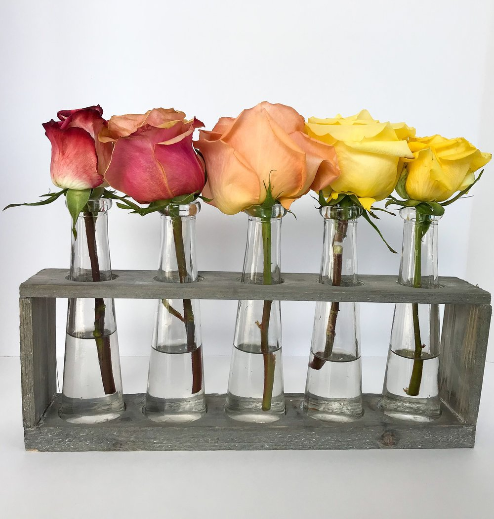 Rainbow Connection - Hold 'Em Vase $22
