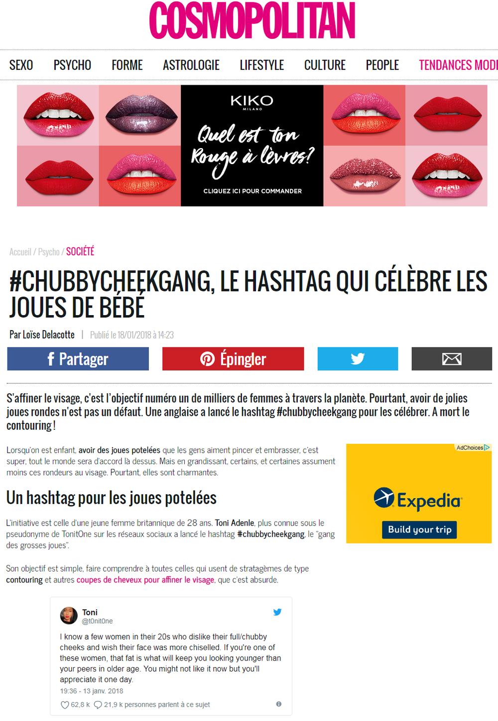 Cosmopolitan (French)