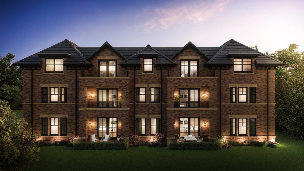 129_Alderley Road_Apartment Exteriors_Rear Night v3.jpg