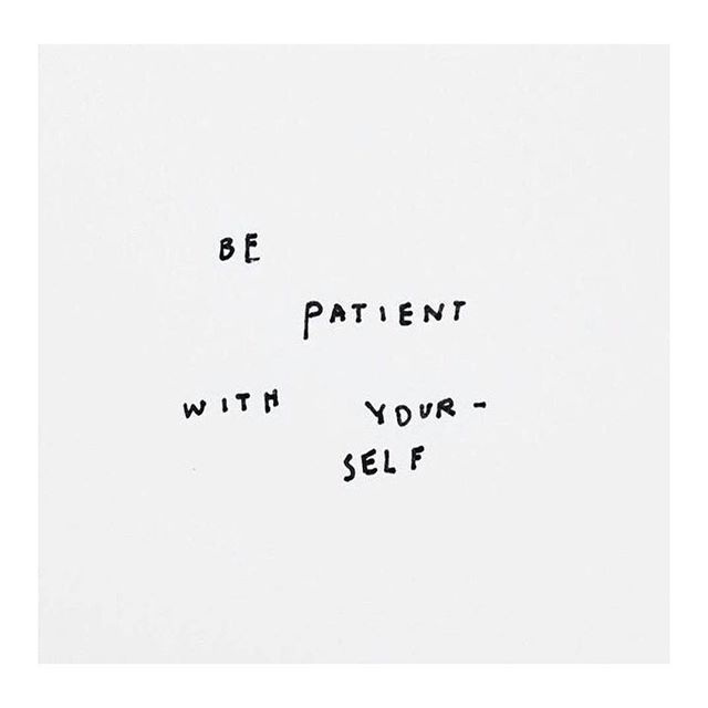 This is something that I have been practicing daily now 🙌🏻 I need to learn to let things happen as they will, and not when I feel it NEEDS to. #Patience #InfertilityJourney #TTC #IUIJourney #MuddledMillennial #MM #LifestyleBlogger #Blogger #WritersOfInstagram