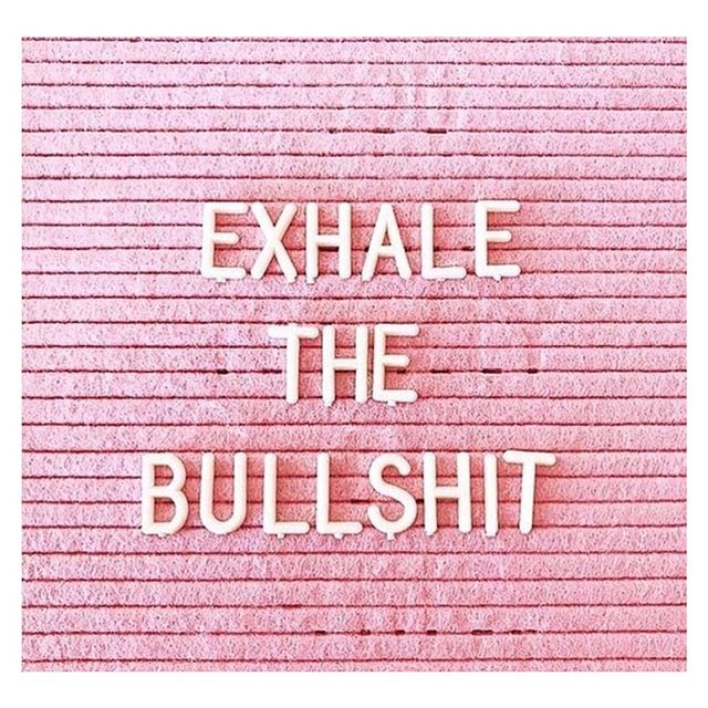 A few rules to #SelfCare: 1. Exhale the bullshit + 2 eliminate all the negative vibes in your life. Whether it's negative people or a negative environment - make the changes YOU need to in order to be happy 😊🙌🏻🙋🏼‍♀️ #MuddledMillennial #MM #SelfLove #Advice #NoNegativeVibes #ExhaleTheBullshit #LifestyleBlogger #BLOGHer #NYC