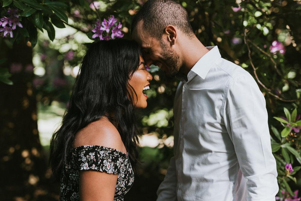 Emotional Whytecliff Park Proposal, Vancouver BC - Czarina + Renan -