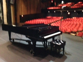 Grand Piano at Fredericton Play House