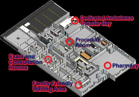 Delburne Medical Centre Floorplan