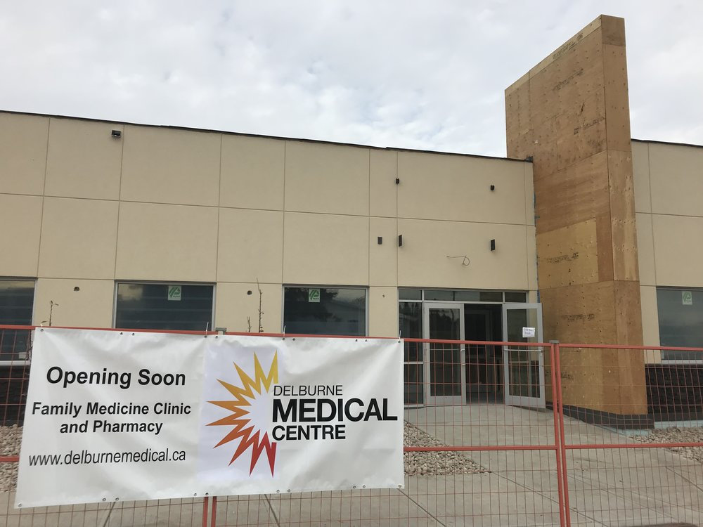 Delburne Medical Clinic Fall 2018