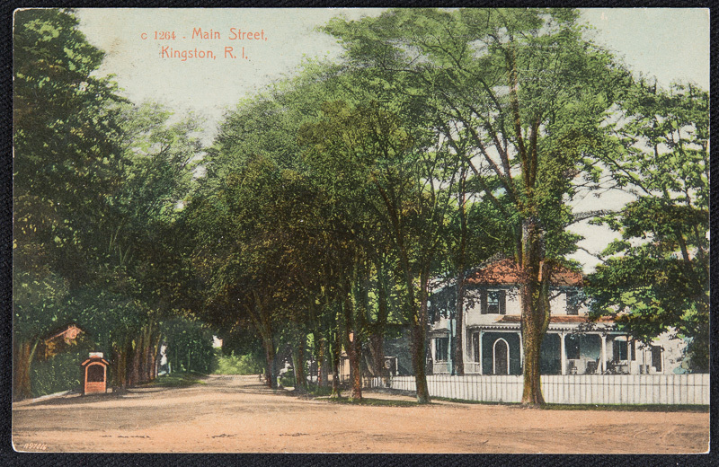 Postcard, 1910  (Courtesy of Providence Public Library)