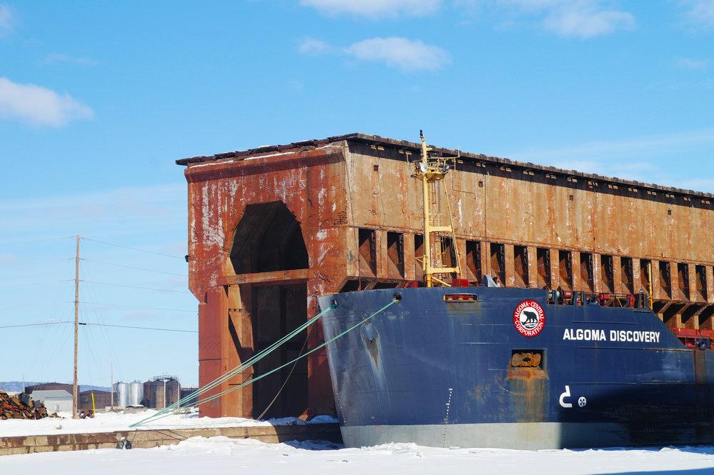 30 foot deep wharf