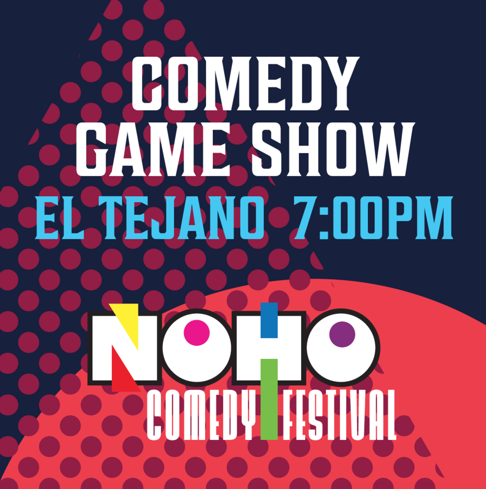 WED, MAY 16   The Comedy Game Show      El Tejano   11122 W Magnolia Blvd    7:00pm    Live Game Show meets Comedy     Featured Comics:  Alex Falcone, Ashley Diane Currie, Irene Tu, Jay Washington, Jordan Makin, Josh Nasar, Kevin Bennett, Rachel Tillmon, Vinny Oshana & Isabella Charlton