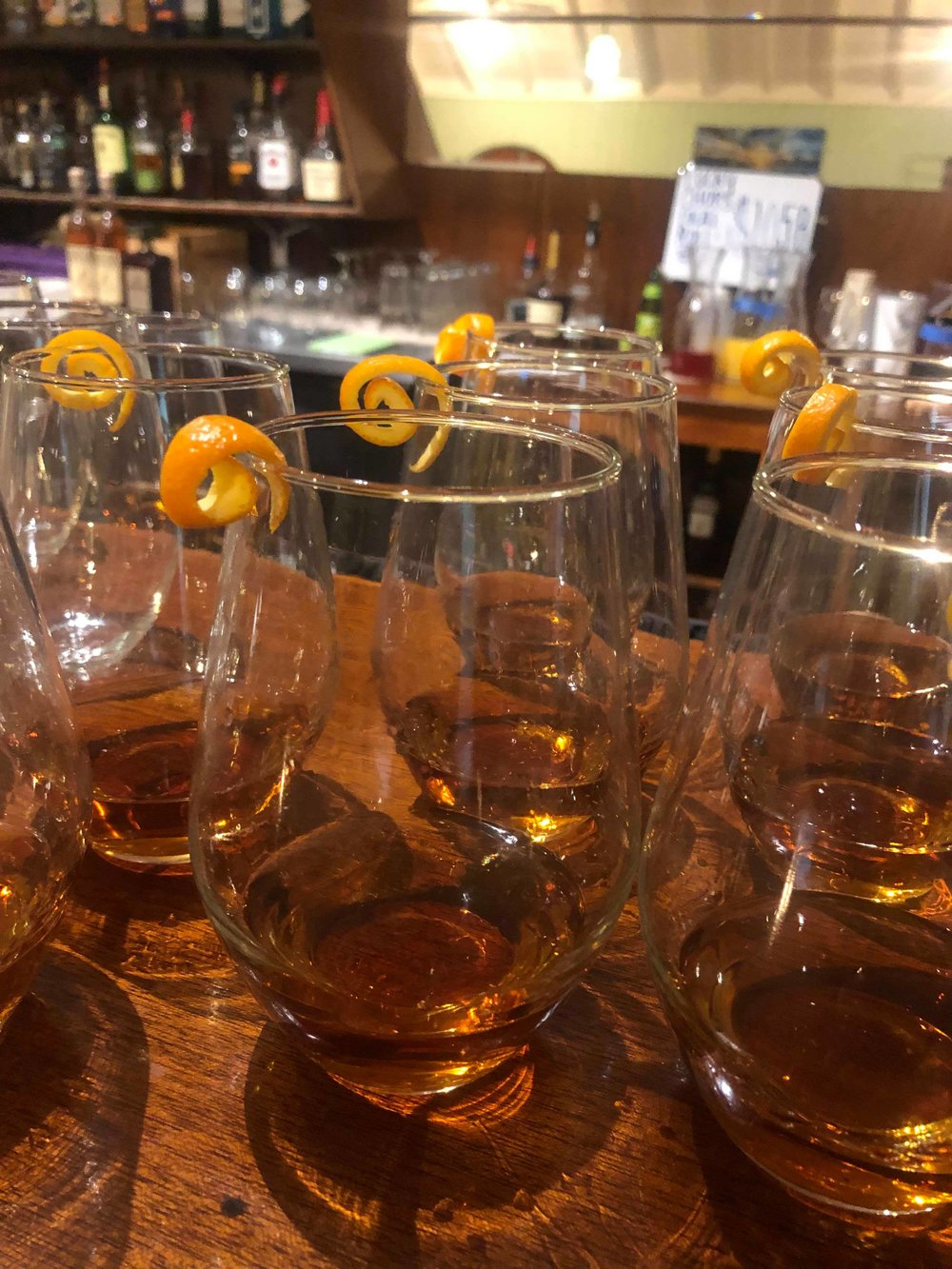 Drink pairing for course five: The Godfather