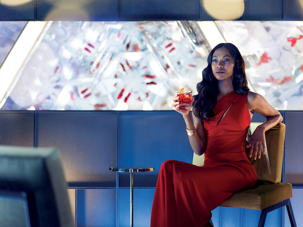 Lead protagonist Mia Parc_ played by Zoe Saldana_ enjoying the perfect Campari cocktail copy.jpg