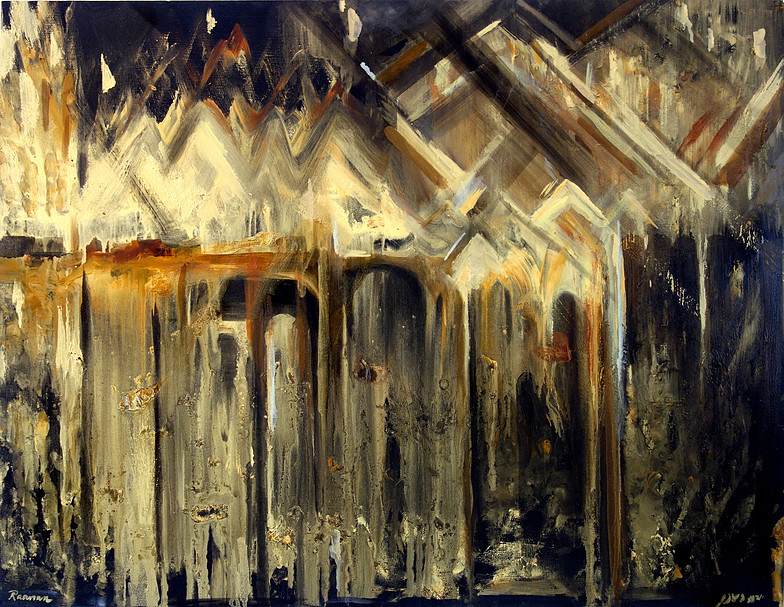 POST-FIRE PAINTINGS>> -