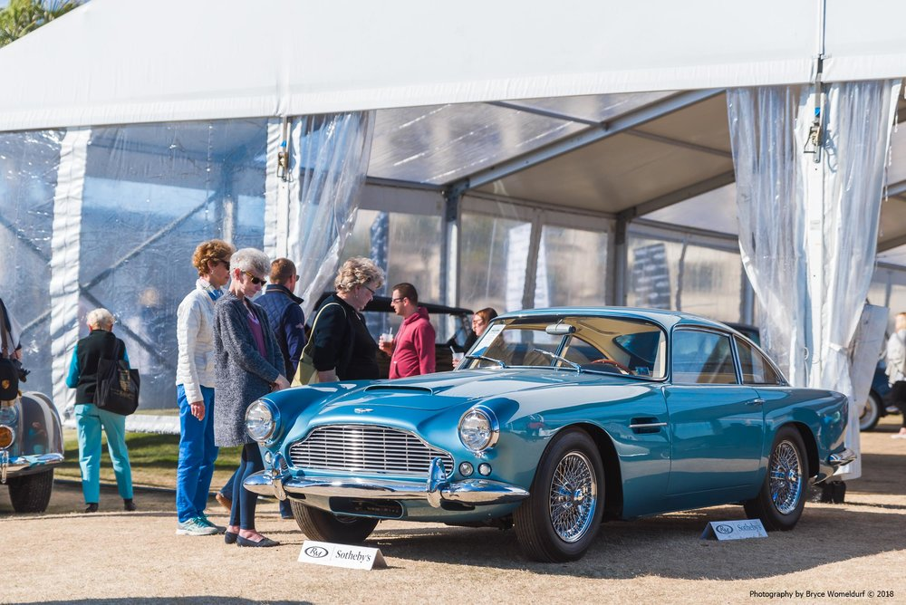 1962 Aston Martin DB4 Series 4 at Amelia Island