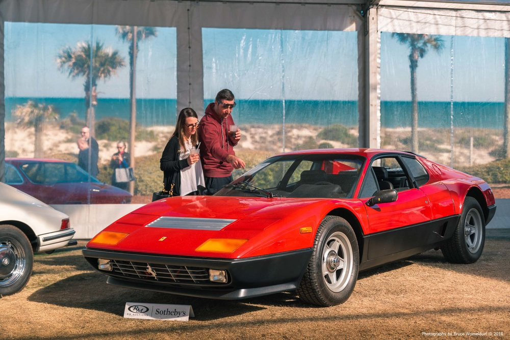 1983 Ferrari 512 BBi auctioned by RM Sotheby's