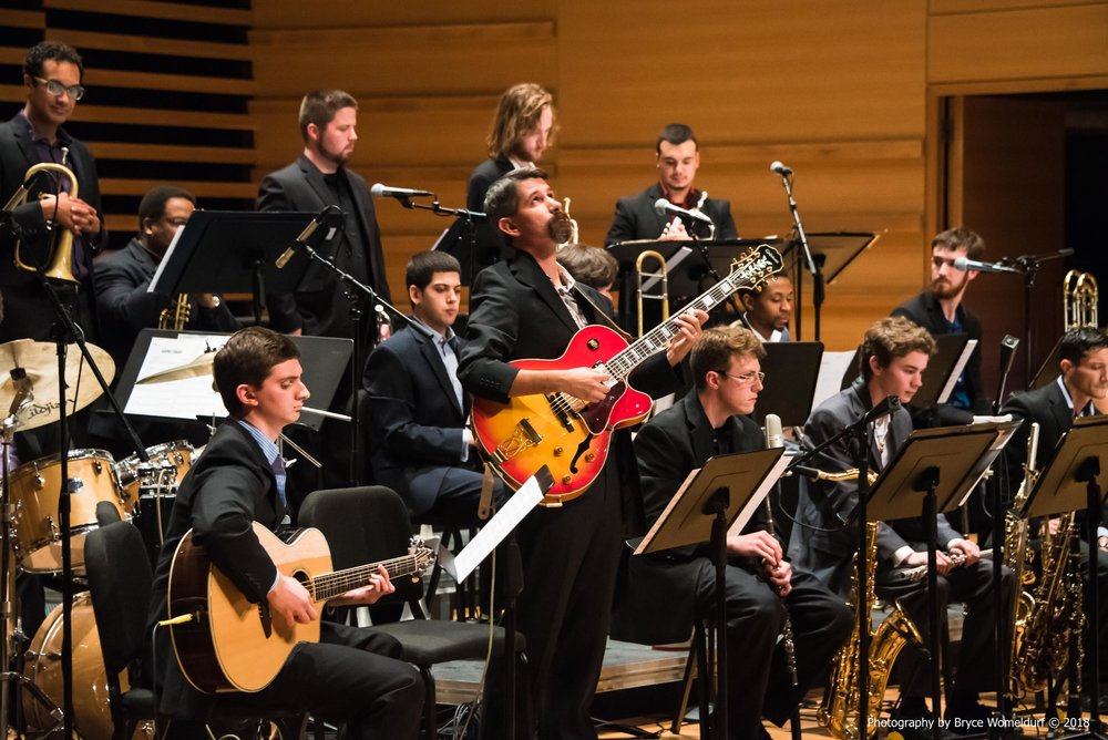 USF Jazz Ensemble I at Monday Night Jazz