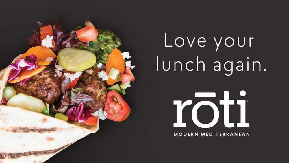 Love Your Lunch Again - Roti Modern Mediterranean