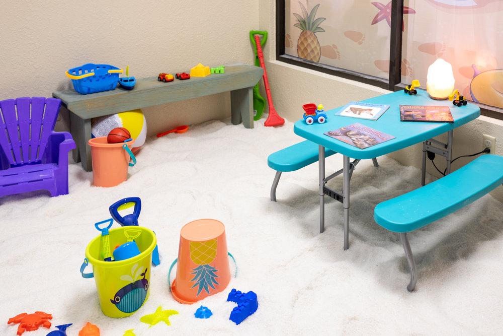 kid's salt room -