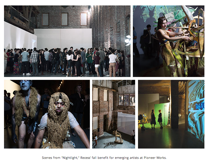 PAPER Magazine covers Z Behl Performance at PIONEER WORKS